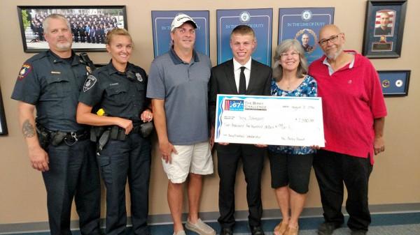 Johnson Wins Craig Birkholz Scholarship Award